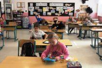 3. a 5. třída - ve třídě
